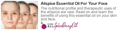 allspice oil nutrients